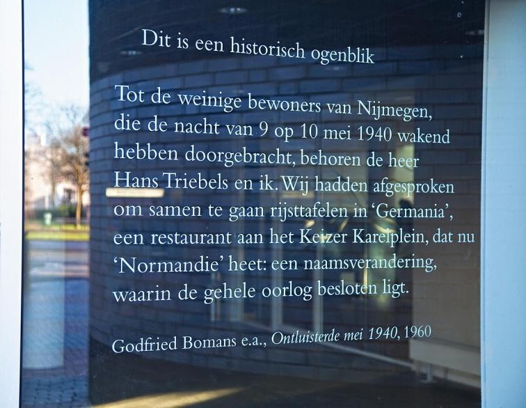 Dit Is Een Historisch Ogenblik Literaire Bakens In Nijmegen